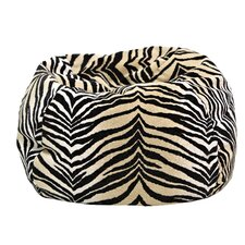 Animal Skin Bengali Tiger Safari Bean Bag Chair