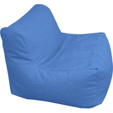 Wet Look Sectional Bean Bag Lounger