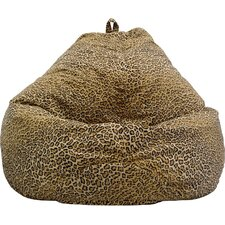 Tear Drop Jungle Cat Safari Bean Bag Lounger