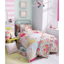 Alphabet Patchwork Single Duvet Set