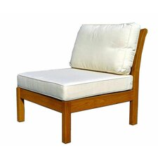 Kamea Sectional Deep Seating Armless Chair with Cushion