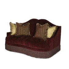 Imperial Court Tufted Loveseat