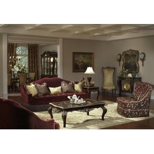 <strong>Michael Amini</strong> Imperial Court Tufted Living Room Collection