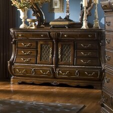 <strong>Michael Amini</strong> Sovereign 10 Drawer Combo Dresser