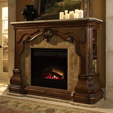 <strong>Michael Amini</strong> Tuscano Electric Insert Fireplace