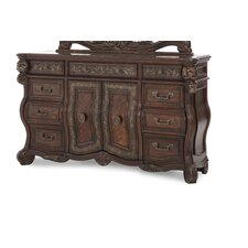 <strong>Michael Amini</strong> Essex Manor Dresser in Deep English Tea