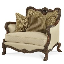 Chateau Beauvais Chair and Ottoman
