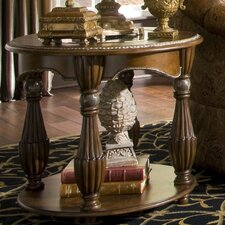 <strong>Michael Amini</strong> Sovereign End Table