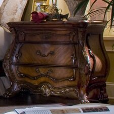 Chateau Beauvais 3 Drawer Nightstand