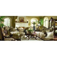 <strong>Michael Amini</strong> Chateau Beauvais Coffee Table Set