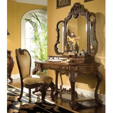 <strong>Michael Amini</strong> Palais Royale Vanity Set with Mirror
