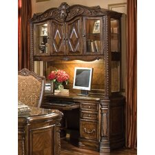 <strong>Michael Amini</strong> Windsor Court Credenza with Hutch