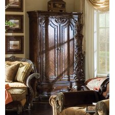 <strong>Michael Amini</strong> Essex Manor Armoire in Deep English Tea