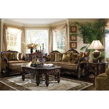 <strong>Michael Amini</strong> Essex Manor Coffee Table Set