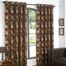 Lucille Lined Eyelet Curtains