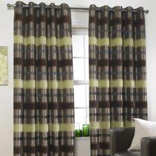 Portabello Eyelet Curtain Set