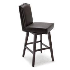 "Maison 30"" Swivel Bar Stool with Cushion"