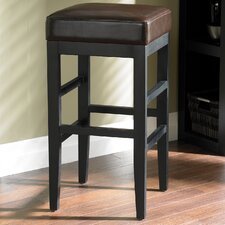 Jacob Bonded Leather Stool