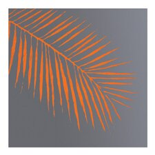 Palm Leaf Painting Print