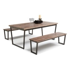 Porto 3 Piece Dining Set