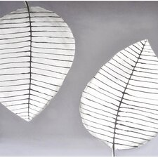 Two Leaves Wall Art