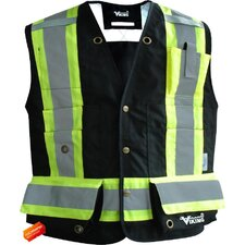 Professional 300D Trilobal Rip Stop Fire Resistant  Surveyor Vest