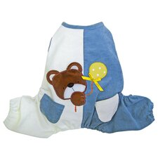 Peek-a-boo Teddy Bear Dog Jumpsuit