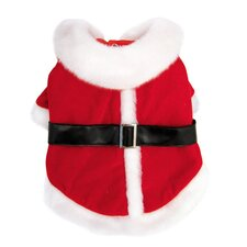 Luxurious Santa's Dog Coat