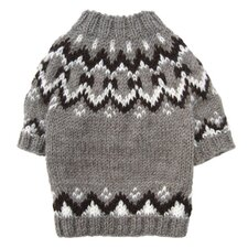 Hand Knit Dog Sweater