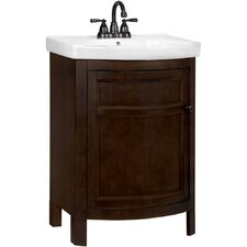 "Tuscan 23.75"" Single Vanity Set in Chocolate"