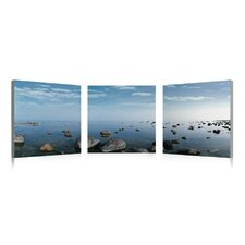 Water Rocks Wall Art (Set of 3)