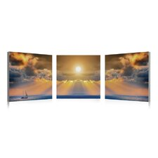 <strong>Artistic Bliss</strong> Sunset Wall Art (Set of 3)
