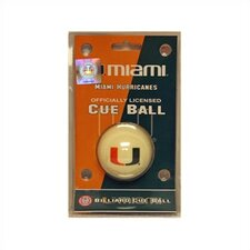 University of Miami Cue Ball