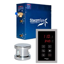 9 kW Oasis Touch Pad Steam Generator Package