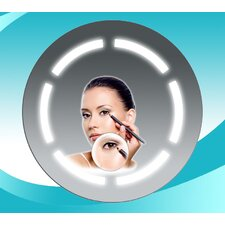 Bathroom Steam Spa Round Fog Free Mirror
