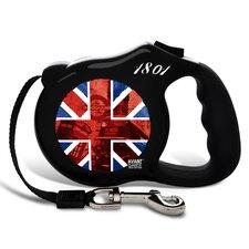 Avant Garde British Invasion Retractable Dog Leash