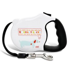 <strong>26 Bars & A Band</strong> Avant Garde My Heart Races Retractable Dog Leash