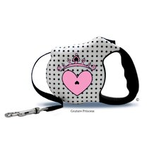 Avant Garde Couture Princess Retractable Dog Leash