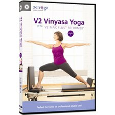 <strong>ZENGA</strong> V2 Vinyasa Yoga on the V2 Max Plus Reformer Level 1 DVD