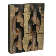 Summit Two Rusty Chains Wall Art