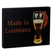 Summit Beer and Crawfish Made in Louisiana Wall Art