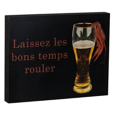 Summit Beer and Crawfish Laissez Rouler Wall Art