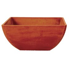 "<strong>Arcadia Garden Products</strong> 6"" Simplicity Square Pot"