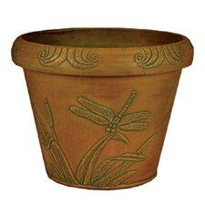<strong>Arcadia Garden Products</strong> Dragonfly Pot