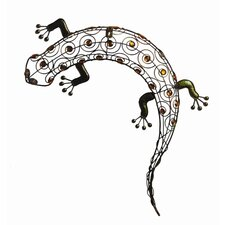 <strong>Arcadia Garden Products</strong> Gecko Wall Decor