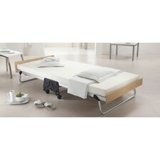 J-Bed Folding Bed with Memory Foam Mattress