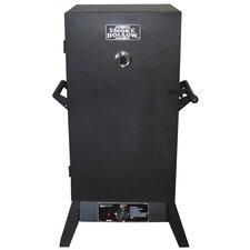 "38"" LP Gas Wood Smoker"