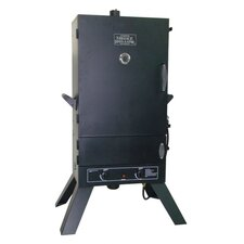 "44"" LP Gas Wood Smoker"
