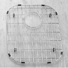 "13"" x 17"" Sink Grid for 18 Gauge Undermount Large Left Bowl Kitchen Sink"