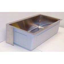 "30"" x 17"" Farm Single Undermount Loft Kitchen Sink"